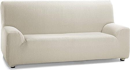 Martina Home Tunez - Funda elástica para sofá, Marfil, 3 Plazas (180-240 cm): Amazon.es: Hogar