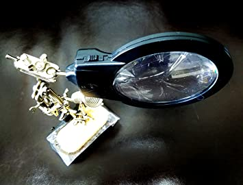 Amazon.com : Helping Hands With Illuminated Magnifier [RadioShack] : Everything Else