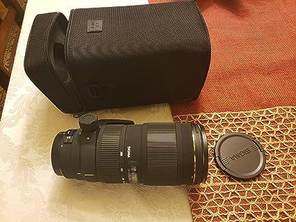 Sigma 70 - 200 mm f/2,8 Apo EX DG OS HSM FLD Gran Apertura Lente ...