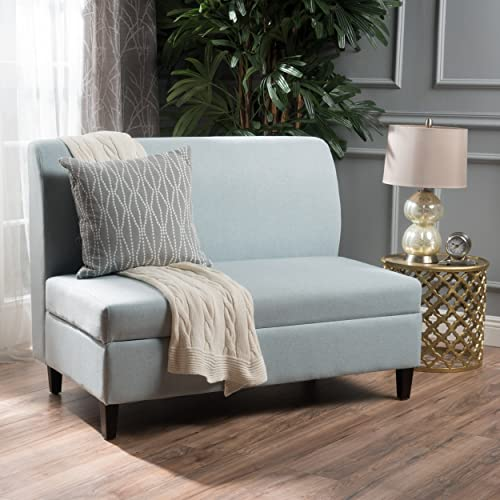 Christopher Knight Home Tovah Fabric Storage Loveseat