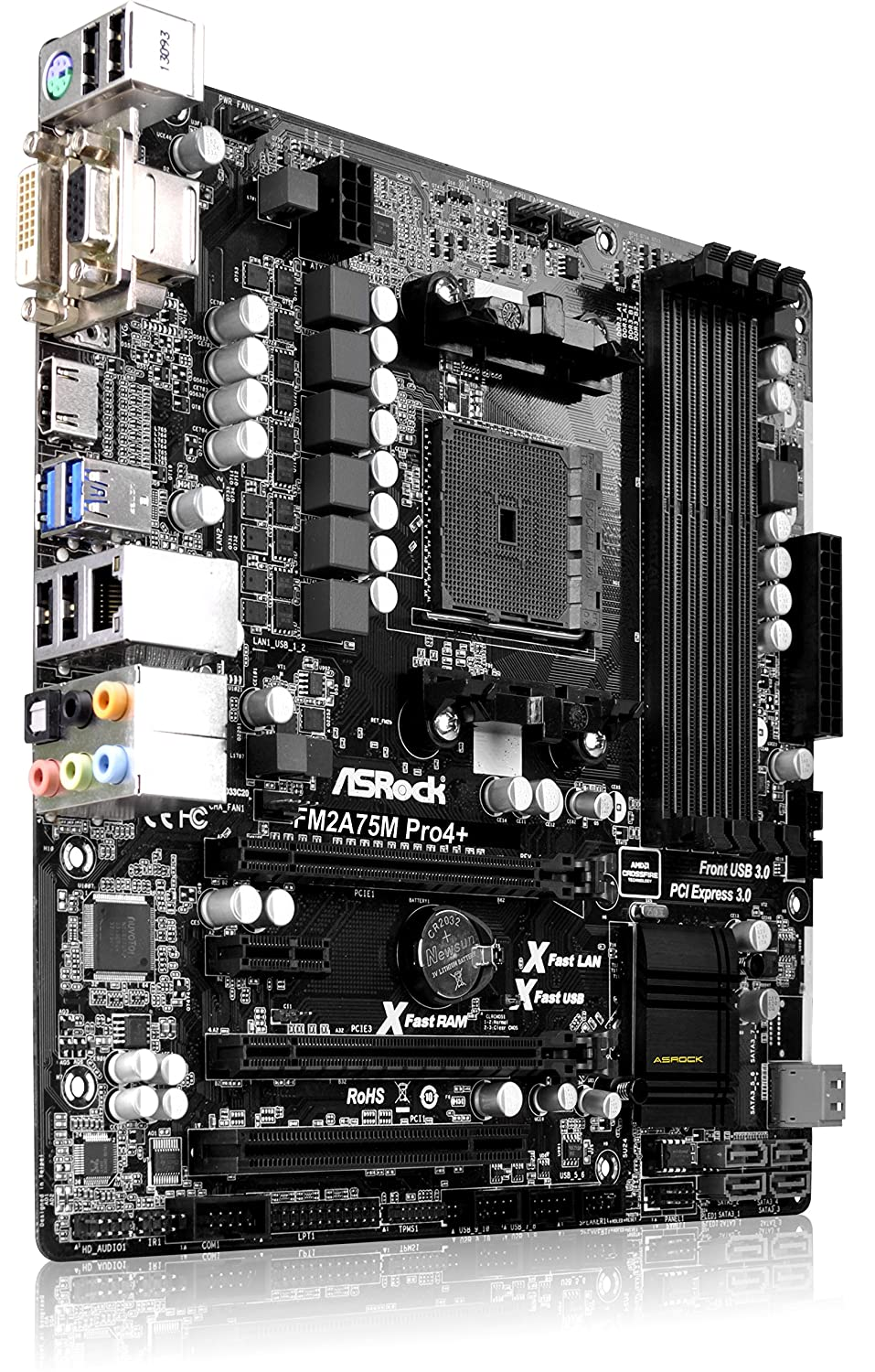 ASRock FM2A75M Pro4+ AMD All-in-One Drivers for Windows Download