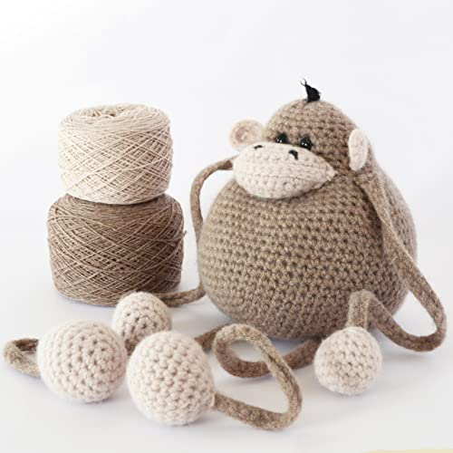 Amigurumi Animals at Work: 14 Irresistibly Cute Animals to Crochet ... | 500x500