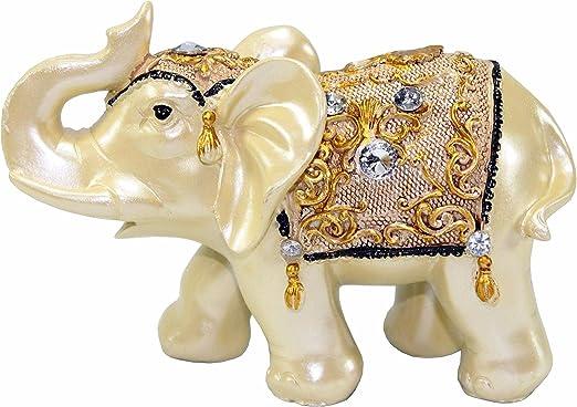 Nuevo Bronce Plata Safari Elefante /& Rhino Home de metal y resina Casa Adornos
