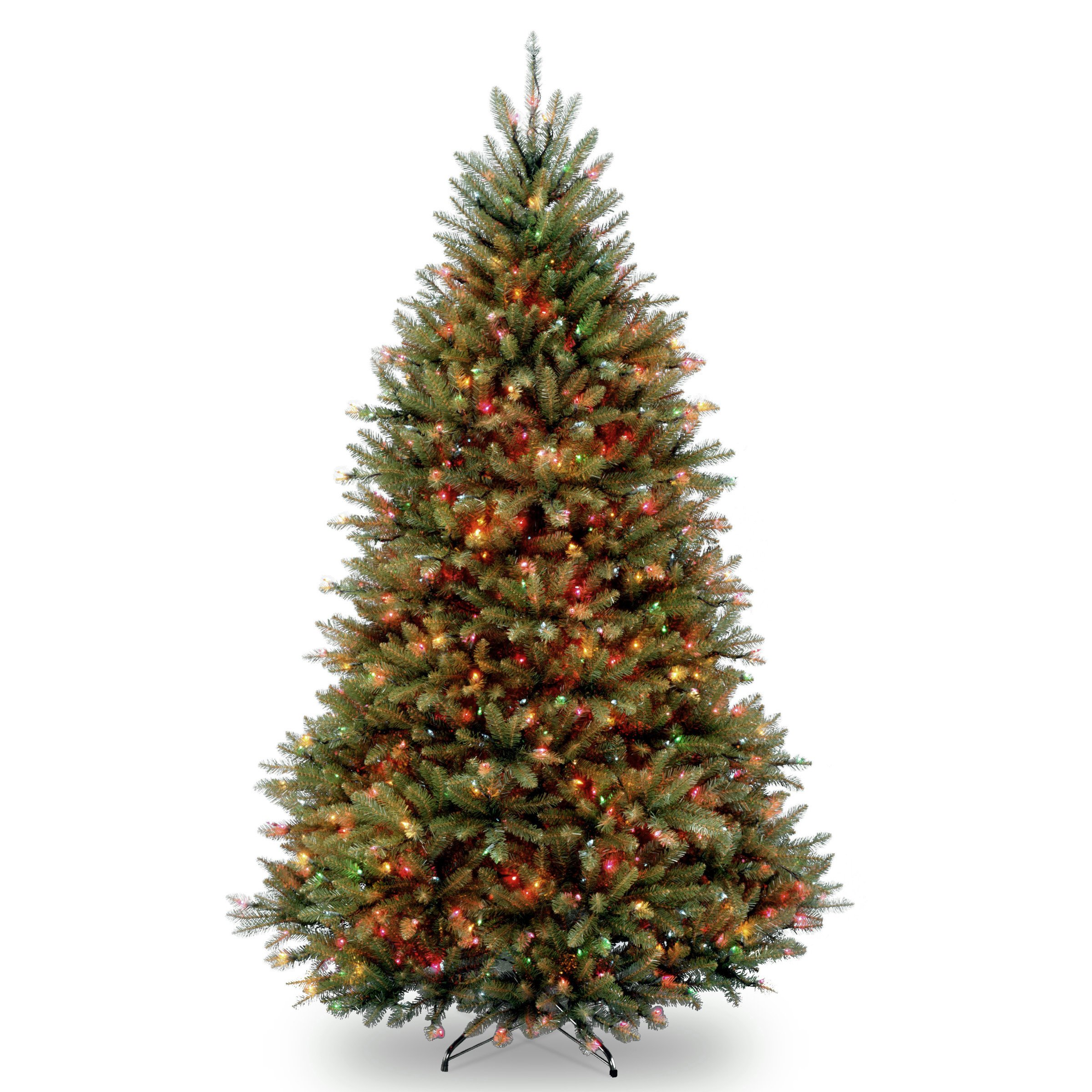 National Tree Dunhill 7 Foot Fir Tree with 700 Multicolor Lights