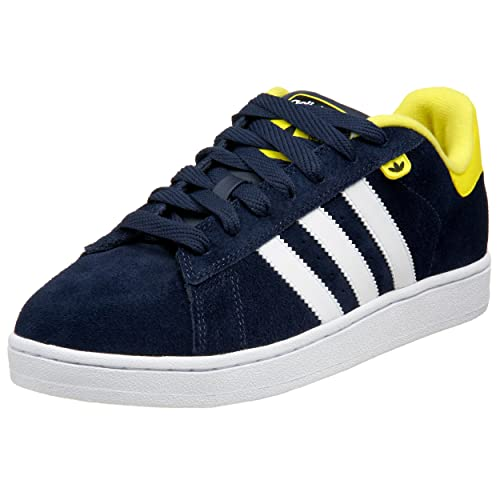new style e7304 c0f5c Adidas Originals Men s Campus Evolution Sneaker,Navy White Lemon ...