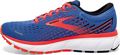 Brooks Ghost 13 Blue/Coral/White 9.5