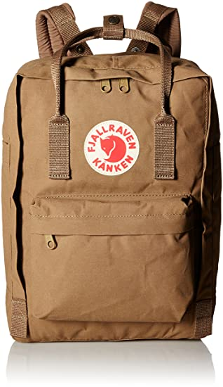 2911263c6 Fjallraven Kanken Laptop Backpack - Sand, One Size/13-Inch: Amazon ...