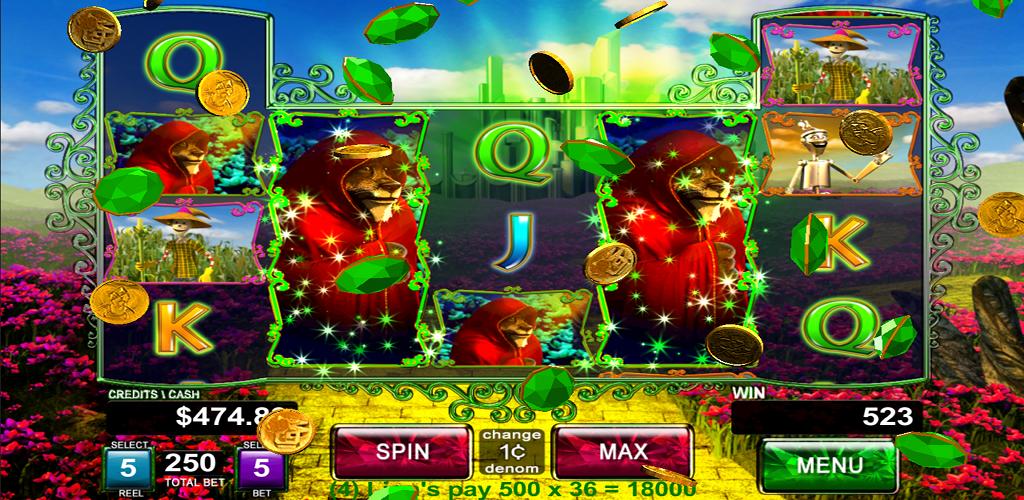 Wizard Oz Slot Machine Online