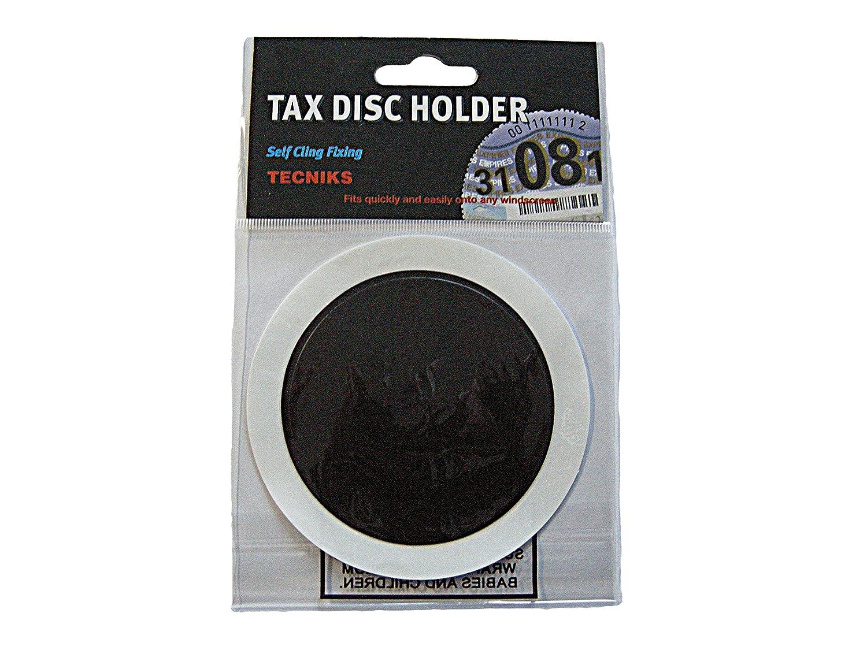Simply TL9000 Self Cling Tax Disc Holder - Black JRP Distribution