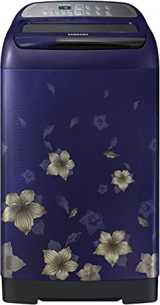 Samsung 7.5 kg Fully-Automatic Top Loading Washing Machine (WA75M4010HL/TL, Star Flower Blue)