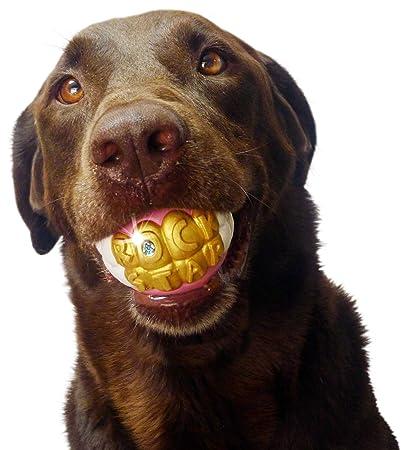 Pet Supplies Humunga Bling Rock Star Teeth Shaped Ball Toy For