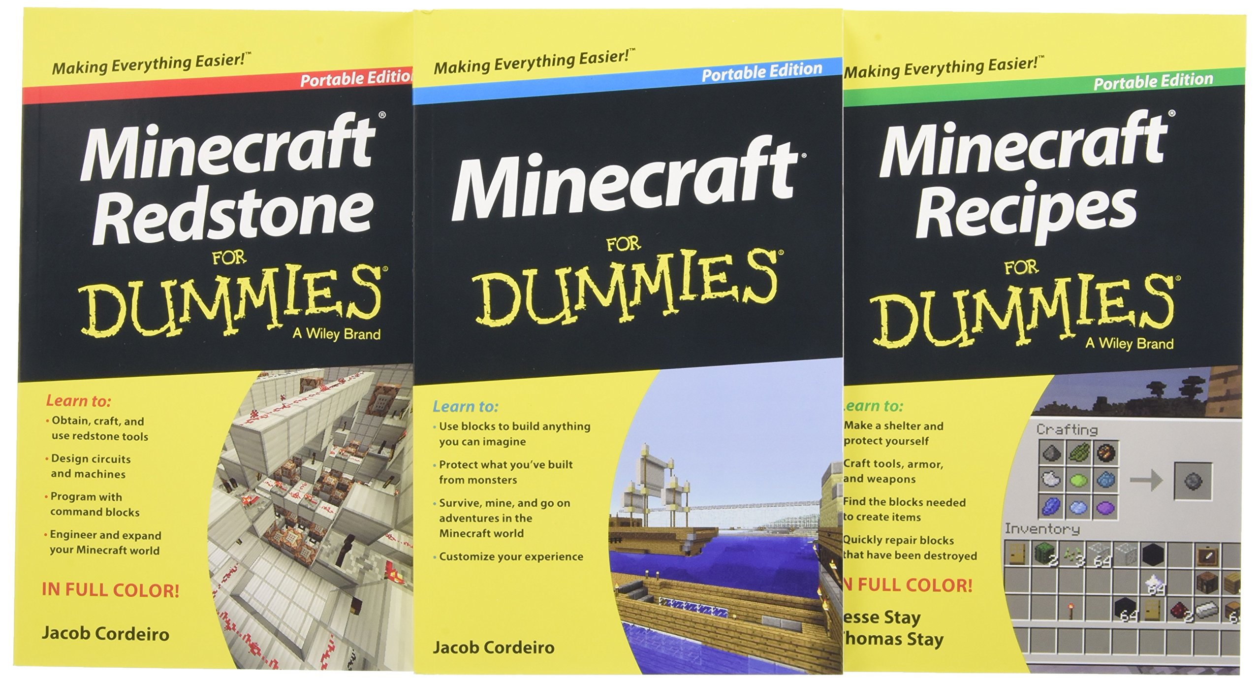 Minecraft Dummies Collection 3 Book Bundle product image