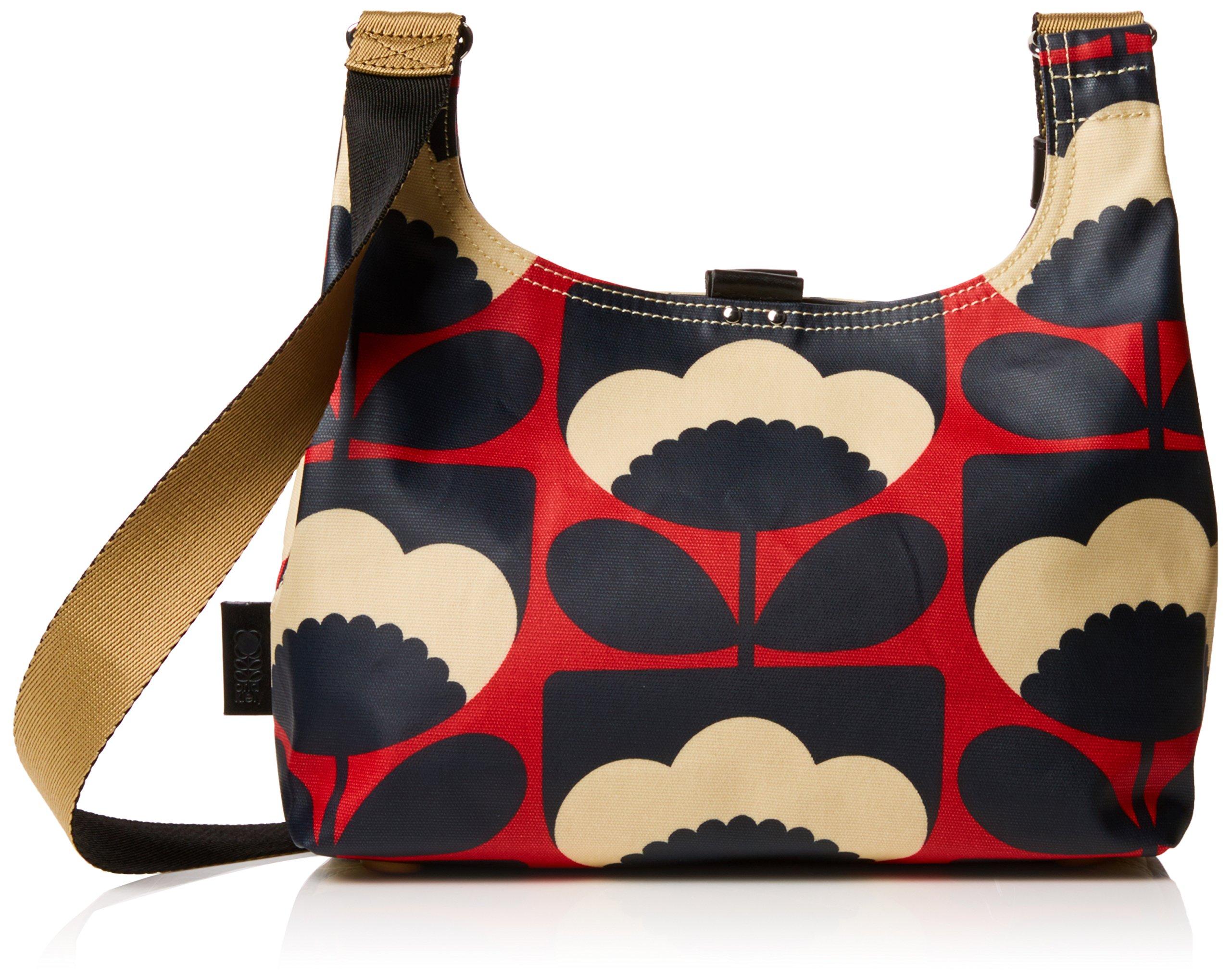 Orla Kiely Spring Bloom Mini Sling Bag, Poppy