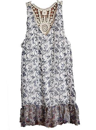 As U Wish V-neck Printed Shift Dress Large