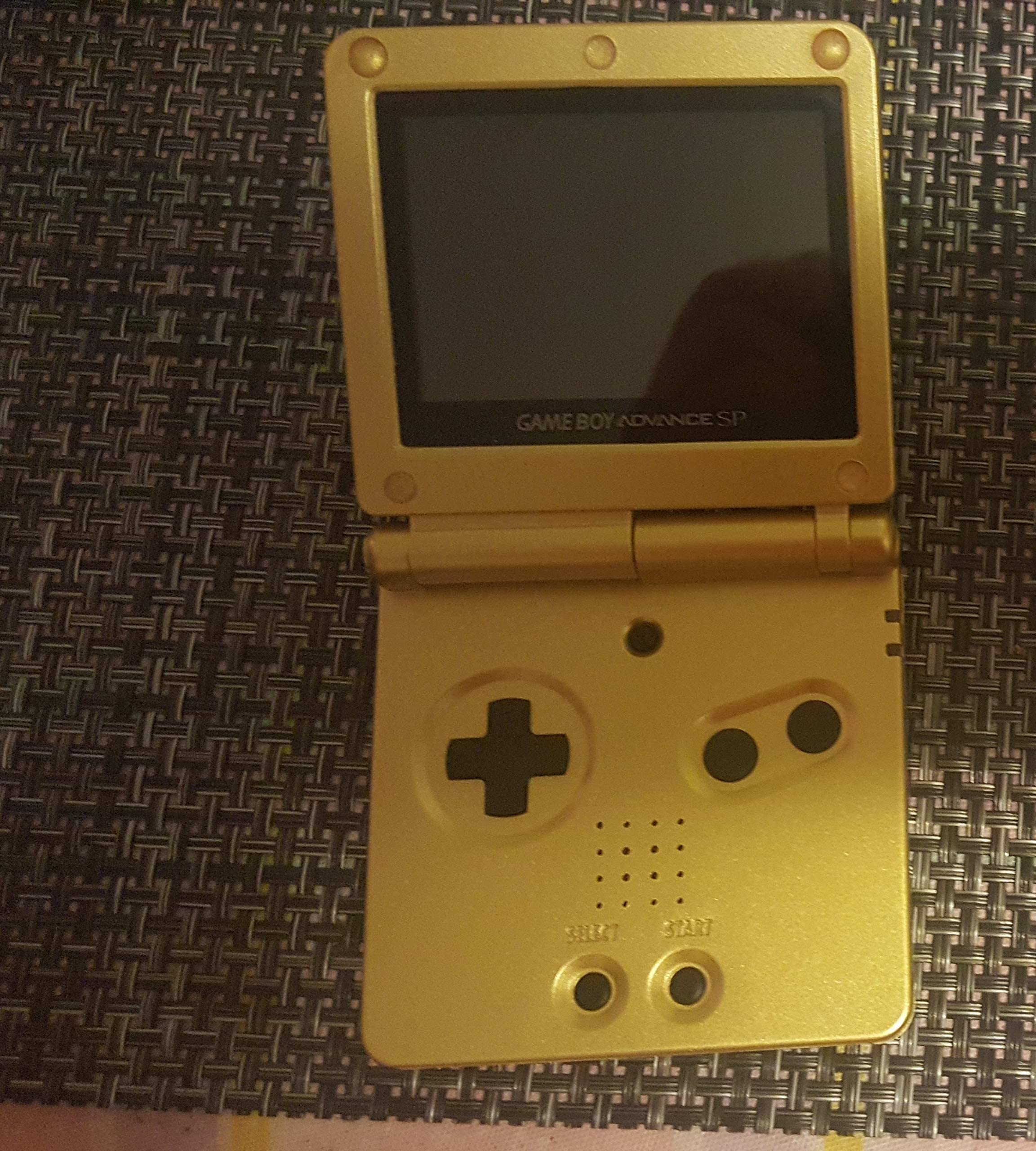 Amazon.com: GAME BOY ADVANCE SP- GOLD: ALL: Video Games