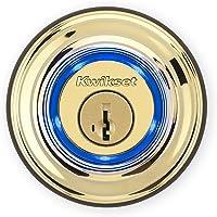Kwikset Kevo (2nd Gen) Touch-to-Open Bluetooth Smart Lock in Polished Brass