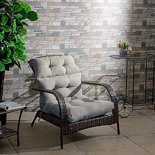Giantex Tufted Outdoor Patio Chair Cushion 5″