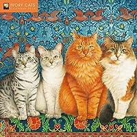 Ivory Cats Wall Calendar 2019 (Art Calendar)