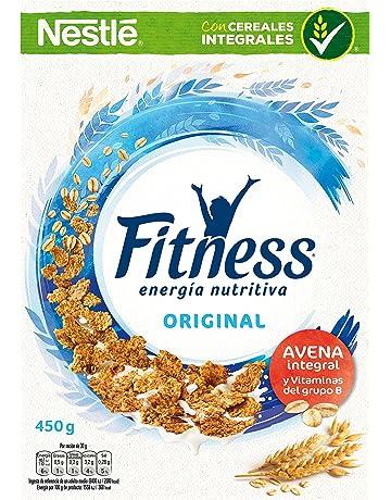 Cereales Nestlé Fitness Original Copos de trigo integral, arroz y avena integral tostados - Paquete