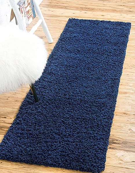 """QUALITY SHAGGY 5CM/"""" ROUND CARPETS 13 COLORS Feltback twist Bedroom RUGS ANY SIZE"""