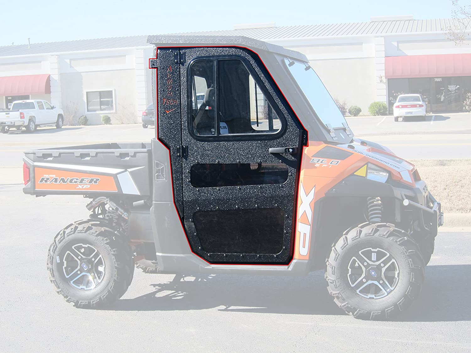 Polaris 2013-2017 Ranger 900XP 900 XP Steel Doors Only for Cab Enclosure CRU Products