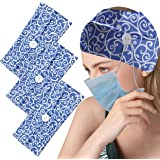 Multifunctional Hair Band With Buttons For Face Cover Fits Nurse Doctor,JPGO Lightweight Elastic And Breathable Wide…