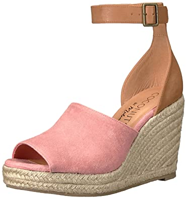 713227e589ba Coconuts by Matisse Women s Flamingo Espadrille Wedge Sandal Pink 9 ...