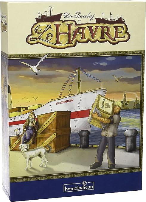 Devir Homoludicus 925098 Homoludicus - Le Havre, Juego de Estrategia (925098): Amazon.es: Juguetes y juegos