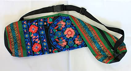 b62ee4baaf7e Amazon.com   Hand Embroidered Bokhara Yoga Mat Bags (27