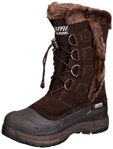 77cb53cb272 Baffin Womens Chloe Snow Boots 4100185CH04 Dark Chocolate 4 UK