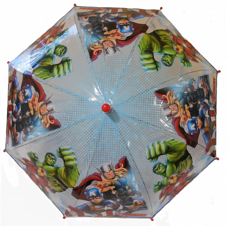 Paraguas de Avengers de Marvel con relieve, ideal para que los niños lleven a la escuela: Amazon.es: Hogar