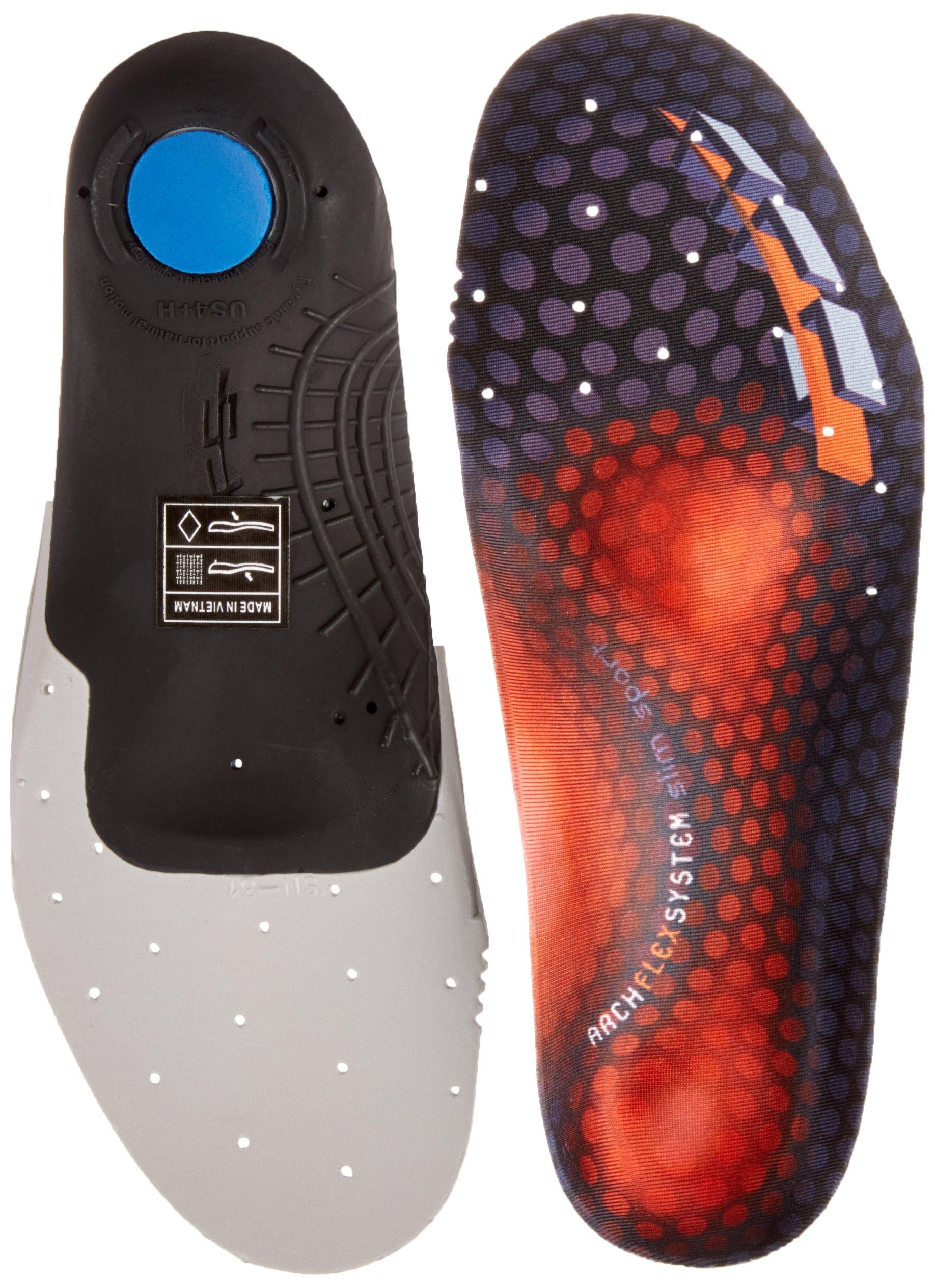 ArchFlexSystem SlimSport High Arch Footbeds, Red, Men' s 9+/Women' s 10.5+ by ArchFlexSystem Footbeds
