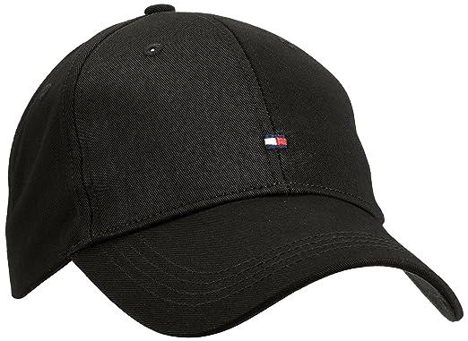 Tommy Hilfiger Herren Baseball Cap Classic BB, Schwarz (Flag Black 083), One aabe74cbbb