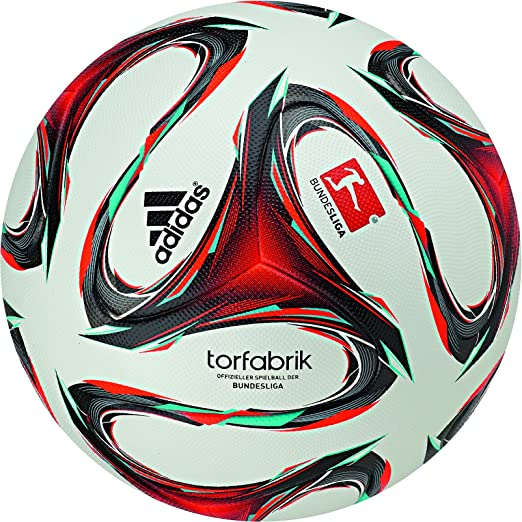 3 opinioni per Adidas Pallone Calcio Torfabrik Bundesliga 2014/2015, taglia 5