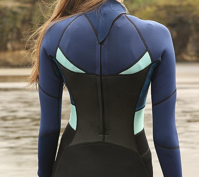 Amazon.com: SailBee - Traje de neopreno para mujer, cuerpo ...