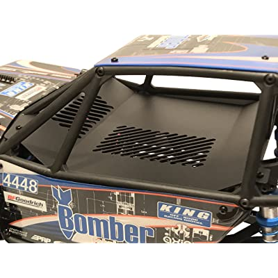 Luxury RC Axial Racing RR10 Bomber Aluminum Interior Panel Black AX31328: Toys & Games