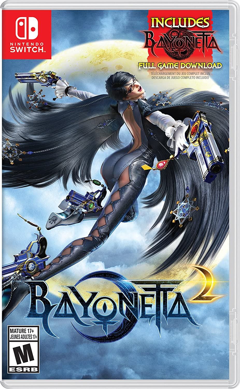 Bayonetta 2 (Physical Game Card) + Bayonetta 2 (Digital Download) - Nintendo Switch