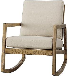 Amazon.com: HYYTY-Y - Mecedora de madera maciza con ...