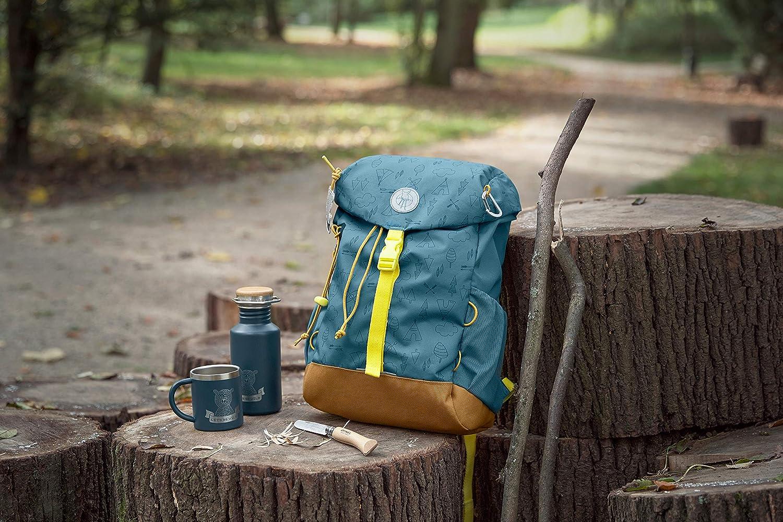 L/ÄSSIG isolierte Edelstahltasse 180 ml Doppelwandig BPA-frei Camping Adventure Outdoor blue
