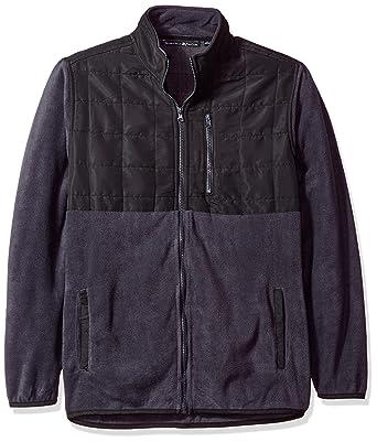 e680fad2a Beverly Hills Polo Club Men's Full Zip Fashion Hoodie Sweatshirt, Charcoal/ Black S