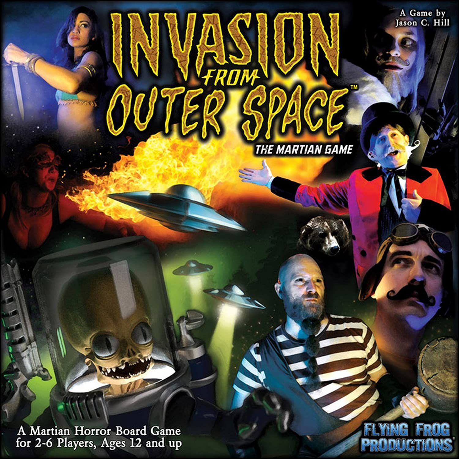 Flying Frog Productions 301 - Invasion from Outer Space