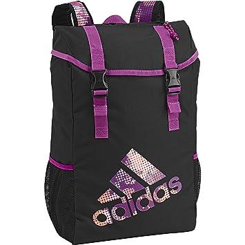 Adidas Performance Girls School Backpack Black Amazon Co Uk