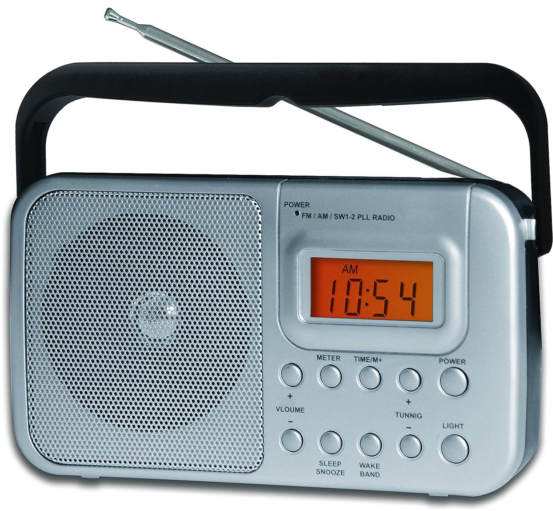 Amazon.com: Coby CR-201 Portable AM/FM Shortwave Radio: Home Audio ...