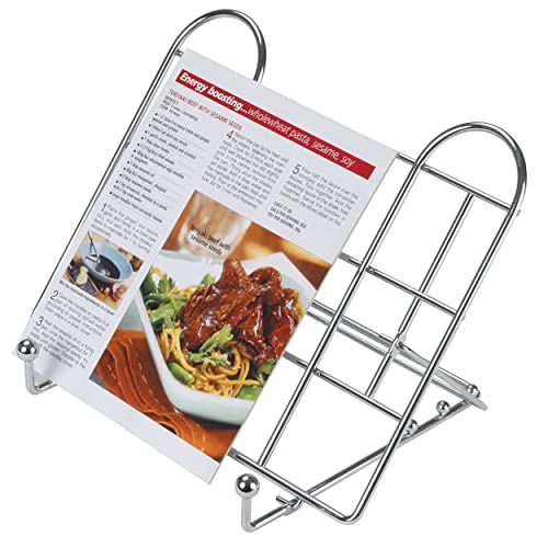 KitchenCraft Adjustable Folding Cookbook Stand / Tablet Holder