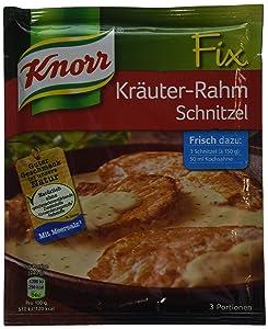 3-pack Knorr Krauter- Rahm Schnitzel Fix (3x2 Oz) Schnitzel Fix