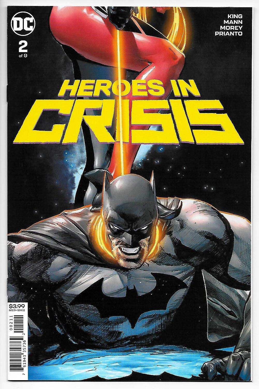 Heroes In Crisis #2 Main Cvr (DC, 2018) NM