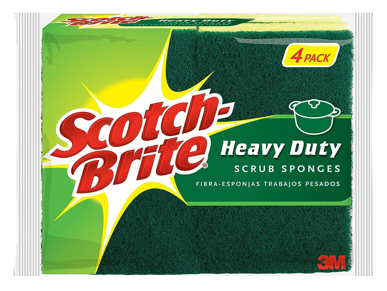 Scotch-Brite Heavy Duty Scrub Sponge, 6-Sponges 3M Corp B0043OWF2A