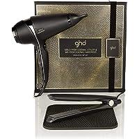 ghd dry & style gift set - Set de plancha de pelo profesional ghd gold, secador ghd air y alfombrilla termorresistente