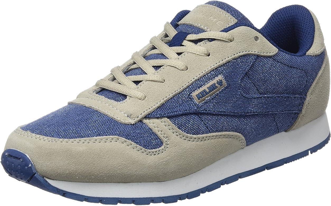 Kelme Victory Jeans, Zapatillas para Hombre, Beige (Beige Y Azul 934), 41 EU: Amazon.es: Zapatos y complementos