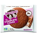 Lenny & Larry's The Complete Cookie, Snickerdoodle, 2 Ounce Cookies - 12 Count, Soft Baked, Vegan and Non GMO Protein…